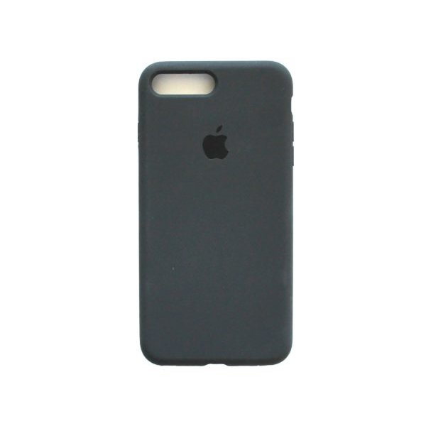 "Чехол Apple Silicone Case (закрытый низ) для iPhone Xs Max ""15"" Charcoal Gray"