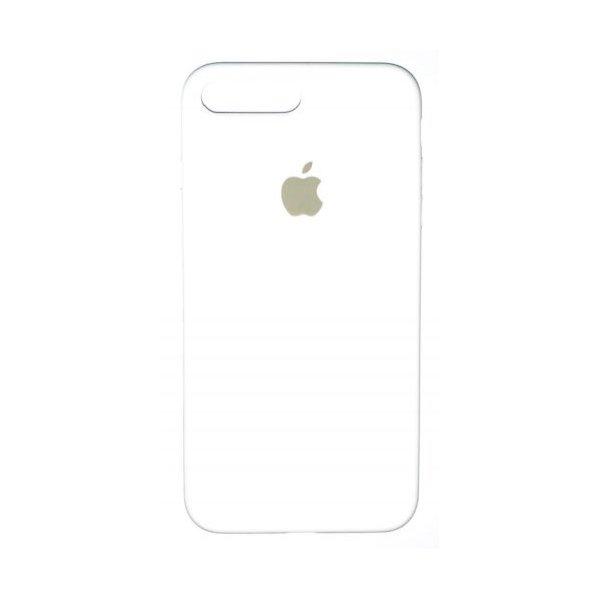 "Чехол Apple Silicone Case (закрытый низ) для iPhone Xs Max ""09"" White"