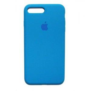 "Чехол Apple Silicone Case (закрытый низ) для iPhone Xs Max ""03"" Royal blue"