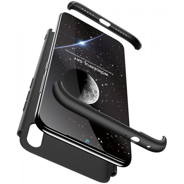 Чехол-накладка GKK 3 in 1 Hard PC Case Xiaomi Redmi Note 7 Black