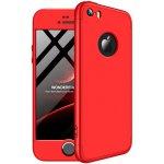 Чохол-накладка GKK 3 in 1 Hard PC Case Apple iPhone 5 / 5S / SE Red