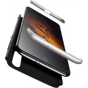 Чехол-накладка GKK 3 in 1 Hard PC Case Xiaomi Mi9 SE Silver/Black