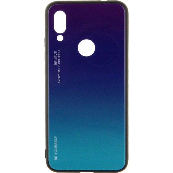 Чехол-накладка TOTO Tempered Glass Phone Case Gradient для Xiaomi Redmi 7 Purple