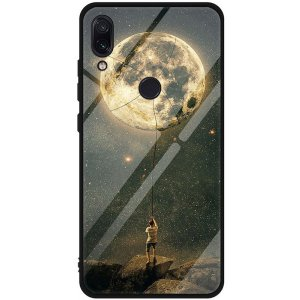 Чехол-накладка TOTO Tempered Glass Phone Case Fashionable для Xiaomi Redmi Note 7 Star Space