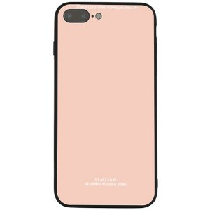 Чехол-накладка TOTO Pure Glass Case для Apple iPhone 7 PLUS/8 PLUS Pink