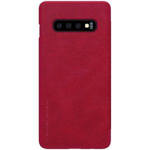 Чехол-книжка Nillkin Qin Leather Case для Samsung Galaxy S10 Red