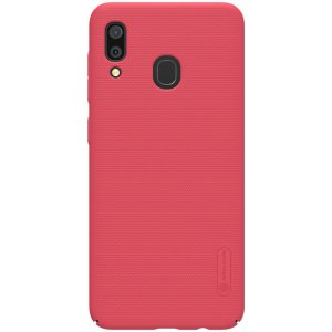 Чехол-накладка Nillkin Super Frosted Shield Case Samsung A30 Red