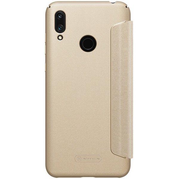 Чехол-книжка Nillkin Sparkle Leather Case Huawei Y7 Prime (2019) Gold