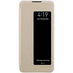 Чехол-книжка Nillkin Sparkle Leather Case Huawei P30 Gold