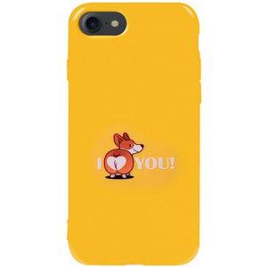 Чехол-накладка TOTO Pure Tpu 2mm Print Case Apple iPhone 7/8 #68 Korgias Yellow