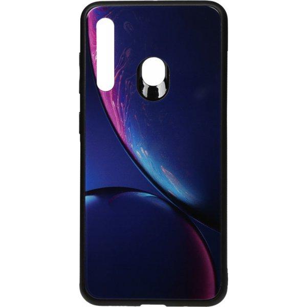 Чехол-накладка TOTO Print Glass Space Case для Huawei P Smart+ 2019 Blue