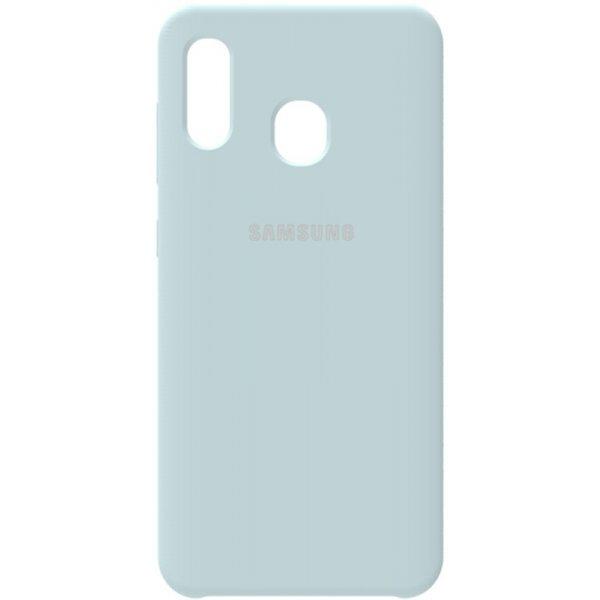 Чехол-накладка Samsung Silicone Case Galaxy A20/A30 Sky Blue