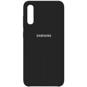 Чехол-накладка Samsung Silicone Case Galaxy A70 Black