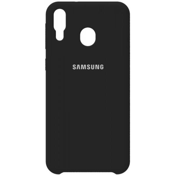 Чехол-накладка Samsung Silicone Case Galaxy M20 Black
