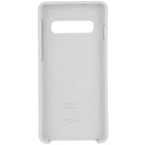 Чехол-накладка Samsung Silicone Case Galaxy S10+ White