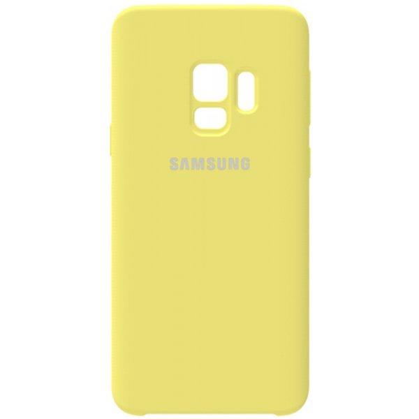 Чехол-накладка Samsung Silicone Case Galaxy S9 Lemon Yellow