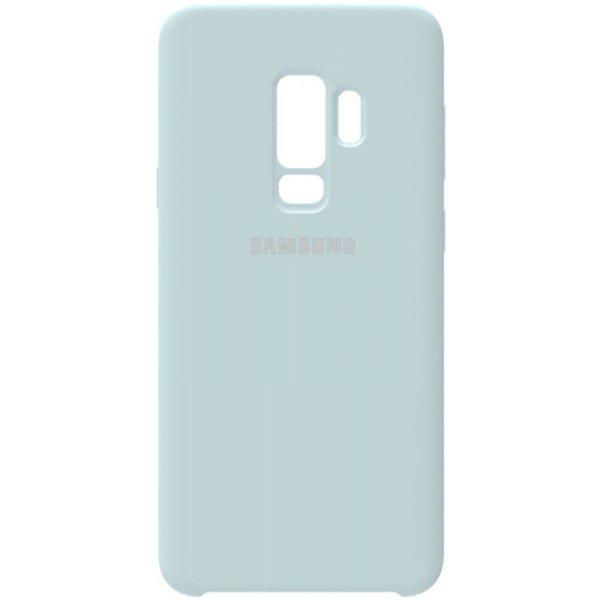 Чехол-накладка Samsung Silicone Case Galaxy S9+ Sky Blue
