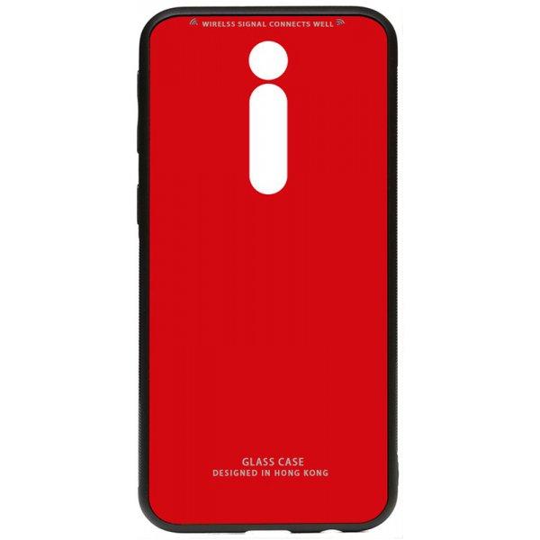 Чехол-накладка TOTO Pure Glass Case для Xiaomi Mi 9T/Redmi K20 Red
