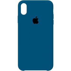 Чехол-накладка Apple Silicone Case для iPhone XS Max Cobalt Blue