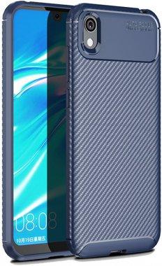 2019 blue carbon case chehol fiber huawei ipaky nakladka seriessoft tpuy5
