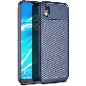 Чехол-накладка Ipaky Carbon Fiber Series/Soft TPU Case для Huawei Y5 2019 Blue