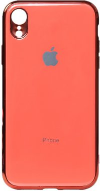 apple case chehol electroplate iphone nakladka pink toto tpuxr