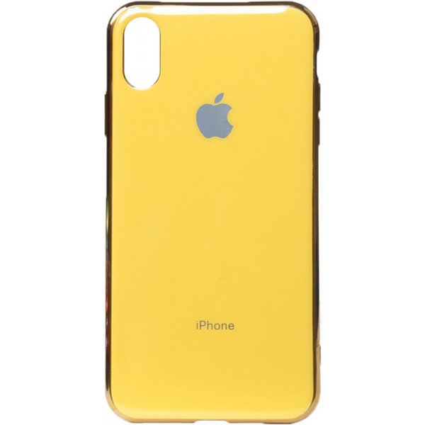 Чехол-накладка TOTO Electroplate TPU Case для Apple iPhone XS Max Yellow