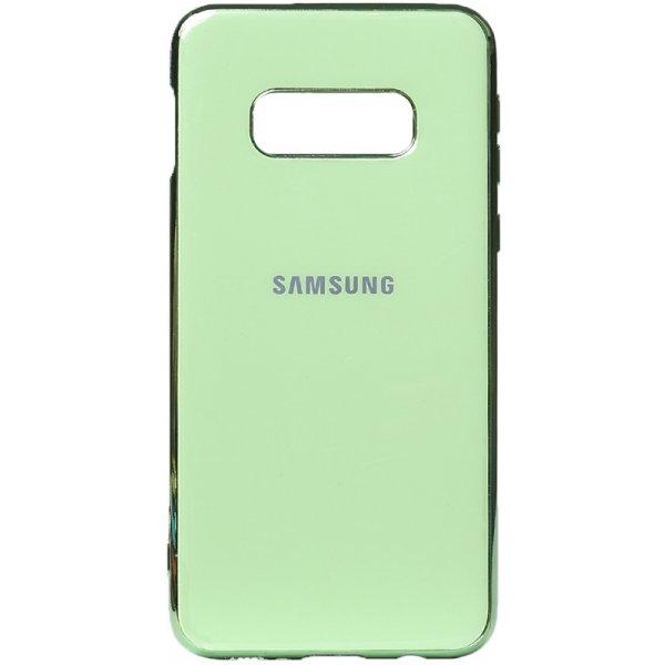 Чехол-накладка TOTO Electroplate TPU Case для Samsung Galaxy S10e Green
