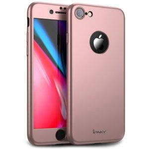 Чехол-накладка Ipaky 360 PC Full Protection Case Apple iPhone 7/8 Rose Gold
