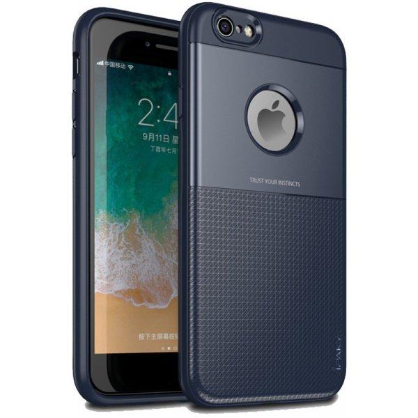 Чехол-накладка Ipaky Shield Series/Elegant Grid Design TPU Hybrid Case Apple iPhone 6/6s Blue
