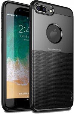 apple black case chehol design grid hybrid ipaky iphone nakladka plus plus8 serieselegant shield tpu7