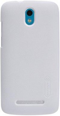 chehol desire frosted htc500 nakladka nillkin shield super white
