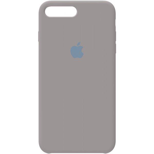 Чохол-накладка Silicone Case для iPhone 7 Plus / 8 Plus Pebble Grey