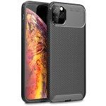 Чехол-накладка TOTO TPU Carbon Fiber 1,5mm Case Apple iPhone 11 Pro Max Black