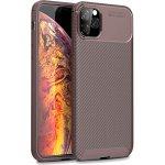 Чехол-накладка TOTO TPU Carbon Fiber 1,5mm Case Apple iPhone 11 Pro Max Coffee