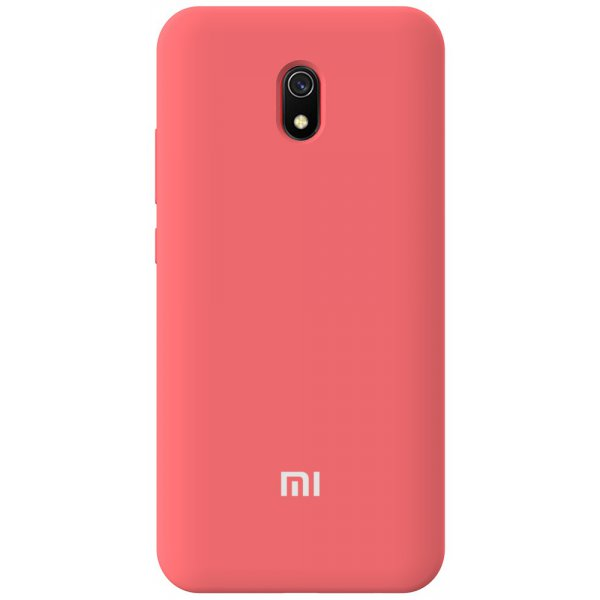 Чехол-накладка TOTO Silicone Full Protection Case Xiaomi Redmi 8A Peach Pink