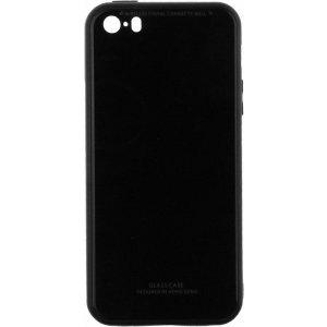 Чехол-накладка TOTO Gradient Glass Case Apple iPhone 5/5s/SE Black