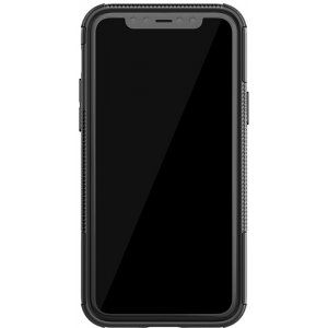 Чехол-накладка TOTO Dazzle Kickstand 2 in 1 Case Apple iPhone 11 Pro Max Black