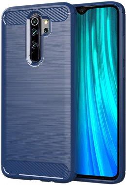 Чехол-накладка Ipaky Slim Anti-Fingerprint TPU Case Xiaomi Redmi Note 8 Pro Blue