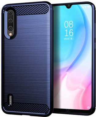 Чехол-накладка Ipaky Slim Anti-Fingerprint TPU Case Xiaomi Mi A3/Mi CC9e Blue