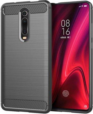 Чехол-накладка Ipaky Slim Anti-Fingerprint TPU Case Xiaomi Mi 9T/Mi 9T Pro/Redmi K20/K20 Pro Gray