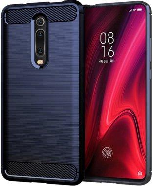 Чехол-накладка Ipaky Slim Anti-Fingerprint TPU Case Xiaomi Mi 9T/Mi 9T Pro/Redmi K20/K20 Pro Blue