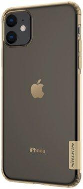 apple brown case chehol iphone nakladka nature nillkin tpu11