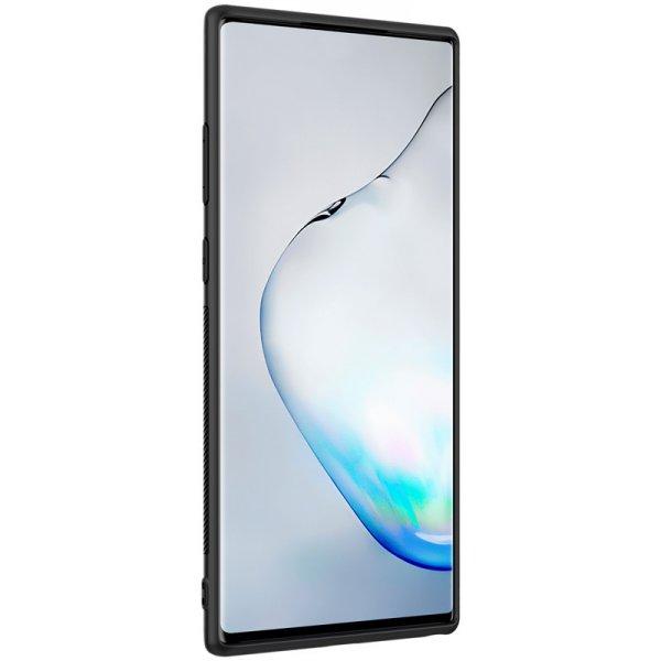 Чехол-накладка Nillkin Textured Case Samsung Galaxy Note+ 10 Black