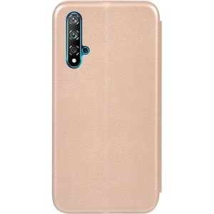 Чехол-книжка TOTO Book Rounded Leather Case Huawei Nova 5T Gold