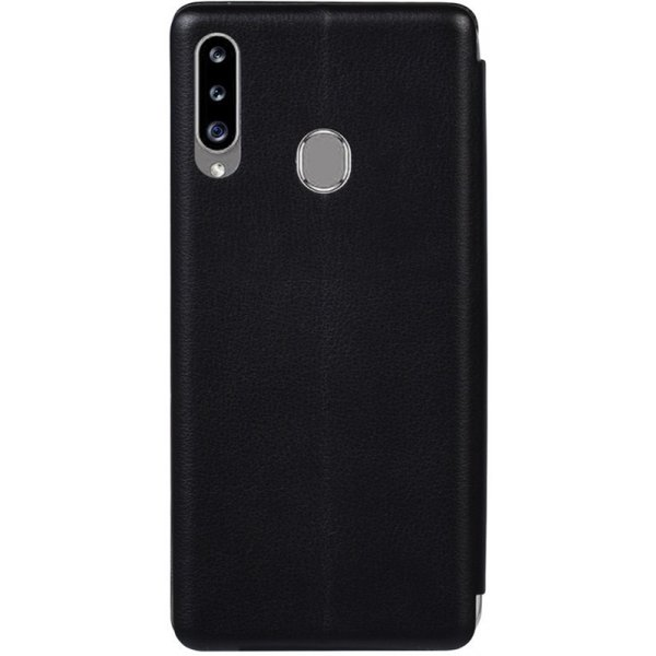 Чехол-книжка TOTO Book Rounded Leather Case Samsung Galaxy A20s Black