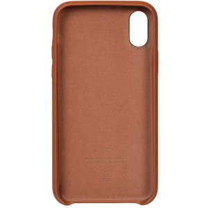 Чехол-накладка TOTO Leather Case Apple iPhone X/XS Brown
