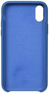 apple blue case chehol iphone leather nakladka toto xxs
