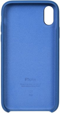 apple blue case chehol iphone leather nakladka toto xr