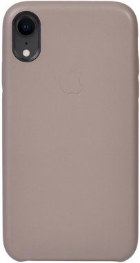 apple brown case chehol iphone leather light nakladka toto xr